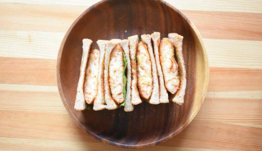 アメリカザリガニのエビカツ。ザリカツサンドを作ってみた | ザリガニを食べる日常