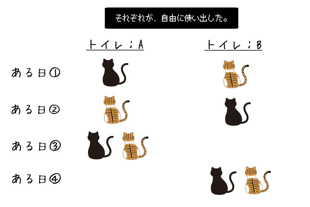 ネコのトイレ事情③