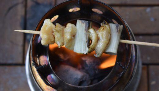 孤独のベランダ飯 焼き鳥篇 | 冷蔵庫の残り物で簡単・激ウマ炭火焼き鳥