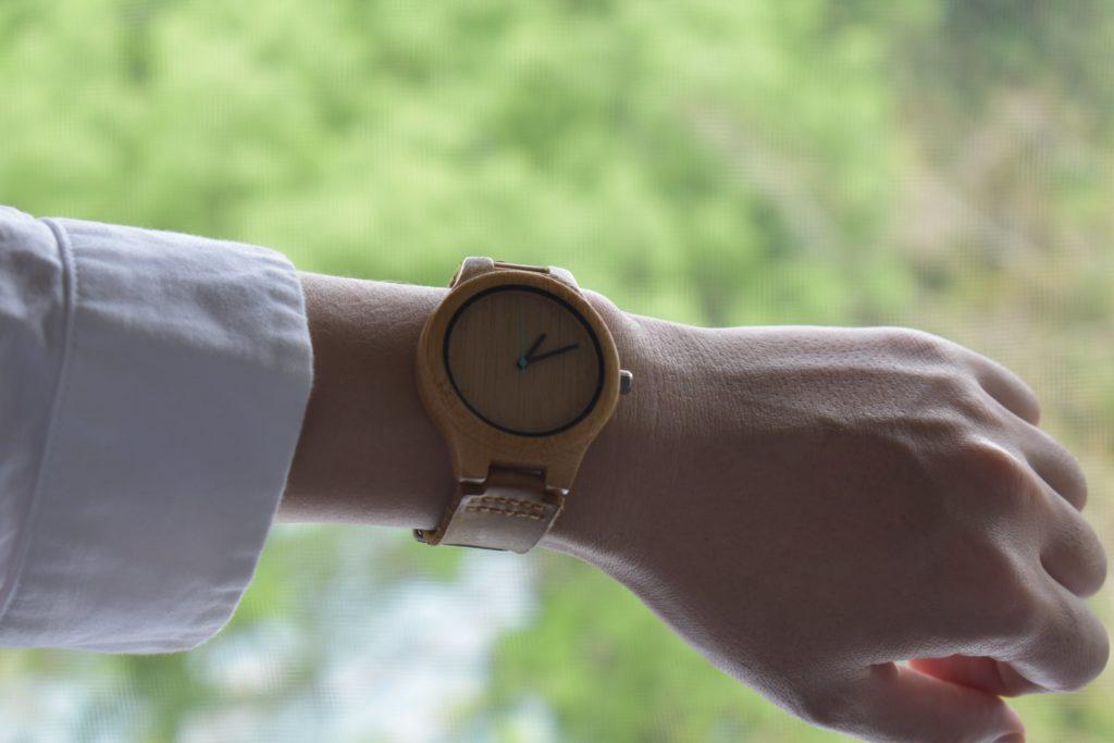 MAM 木製時計 histo 600