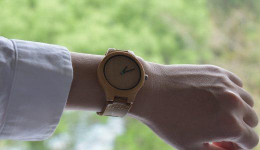 シンプルなデザインでオシャレな木の腕時計-MAM originals | 木に囲まれる生活
