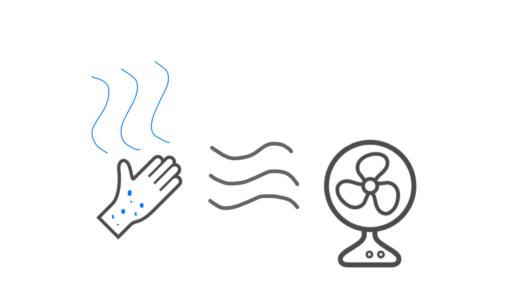 なぜ、濡れた体で扇風機の風に当たると涼しいのか? | メカニズムをわかりやすく解説