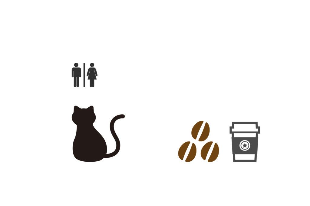 コーヒーかすでネコトイレ対策