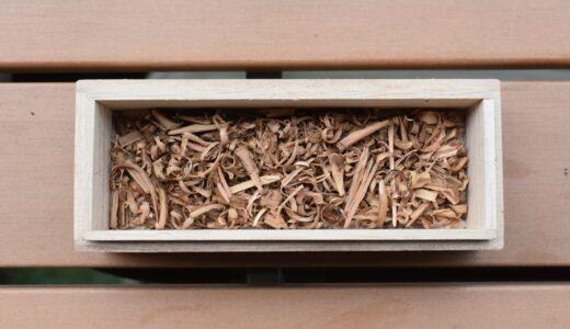 サクラの枝で燻製用のスモークチップをDIY(自作)する。
